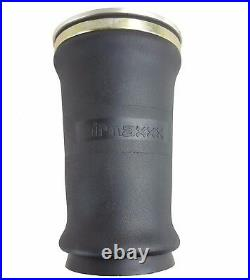 Tapered sleeve air bag single 1/4npt port air ride suspension rolled spring