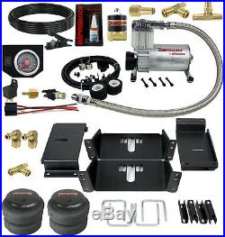 Touring Tech Towing Assist Air Bag Suspension Lift Over Load Bag 2007 Chevy GM 1500