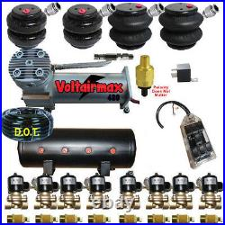 V 480 Air Compressors 1/2 Valves 2500 & 2600 Black 7 Switch Tank
