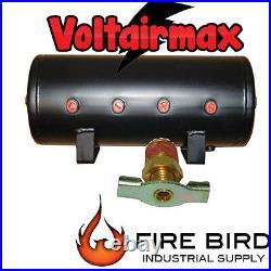 V 5 Gal Air Tank 8 Port Air Ride Suspension Compressor System Airbagit