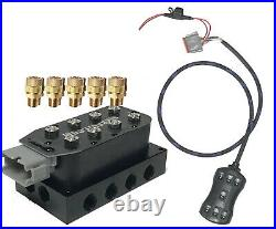 V Accu-Air with VU4 Valves/Harness 7-switch controller
