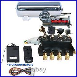 V Accurate Air SwitchSpeed Air Bag Suspension 480Compressor & VU4 Valve
