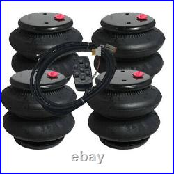 V Air Ride Bags Springs 4 D-I 2600 1/2npt 7-Switch