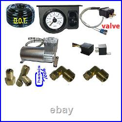 V Tow Assist Control In Cab Air Height Control Electric Switch Gauge, Compress