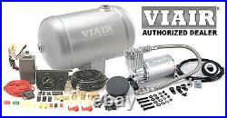 VIAIR 275c Air Compressor 1 Gallon 150psi Kit System for HORNS BAGS SPRINGS