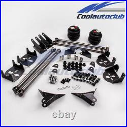 Weld On 4 Link Suspension Kit with 2500 Air spring Bag & Triangulated Frame Mounts